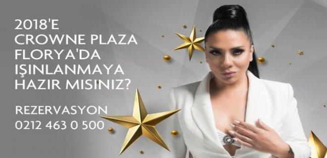 2018 Yılbaşı Programı Crowne Plaza Florya İstanbul Işın Karaca Konseri