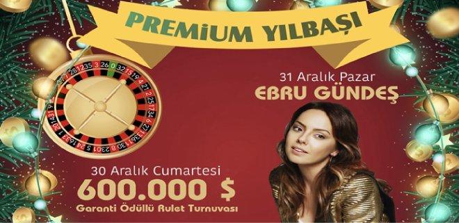 2018 Yılbaşı Programı Kıbrıs Cratos Premium Hotel Ebru Gündeş Konseri