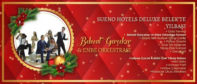 2018 Yılbaşı Sueo Hotels Deluxe Belek Behzat Gerçeker ve Enbe Orkestrası Konseri