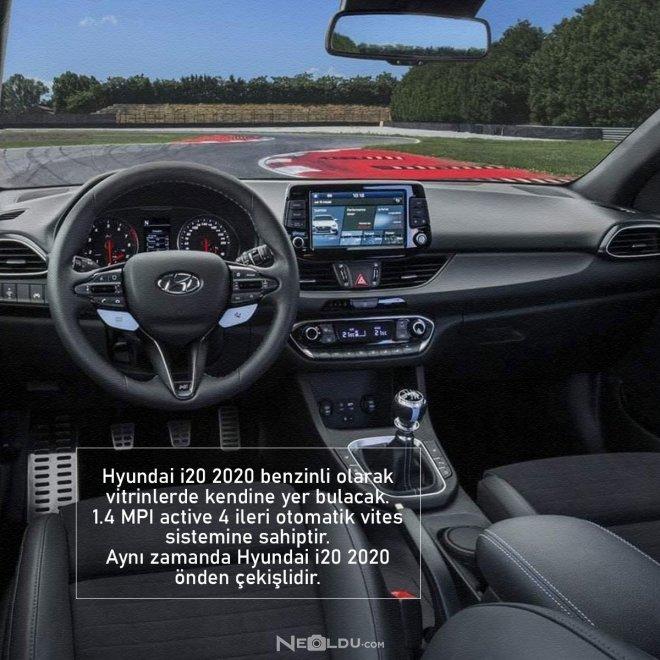 Hyundai i20 2020 Motor ve Şanzıman