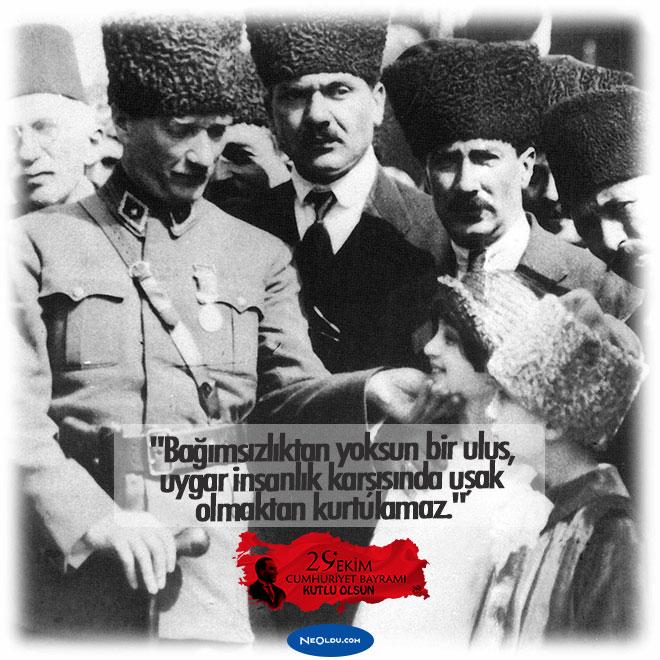29 Ekim Cumhuriyet Bayramı Hakkında Bilgi