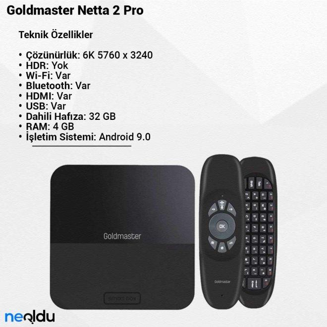Goldmaster Netta 2 Pro