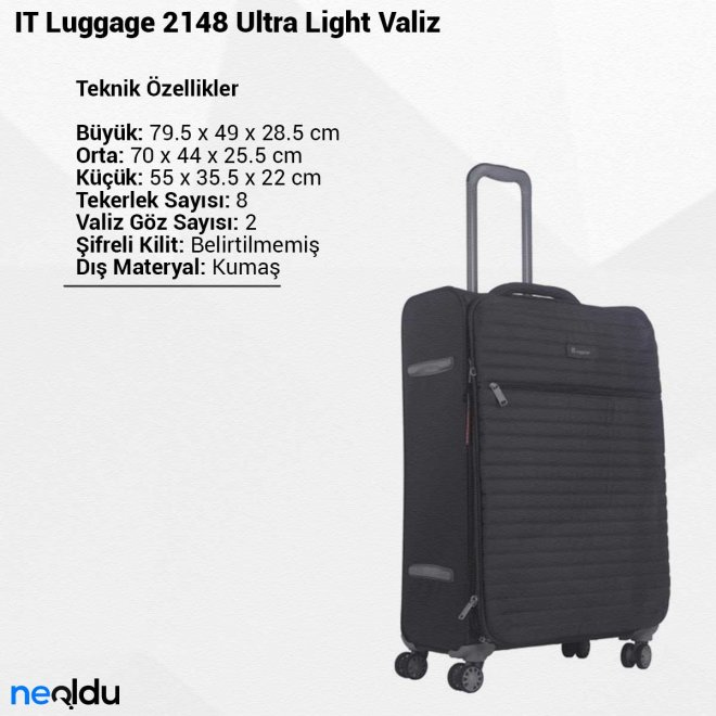 IT Luggage 2148 Ultra Light Valiz