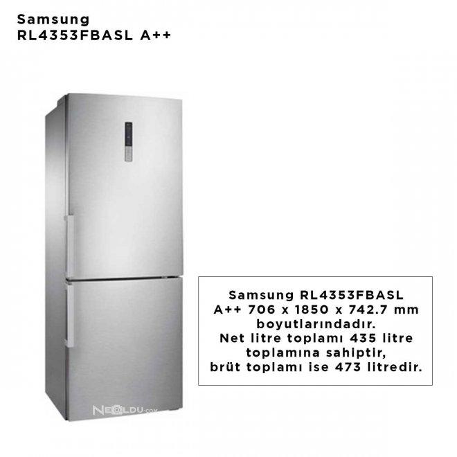 Samsung RL4353FBASL A++