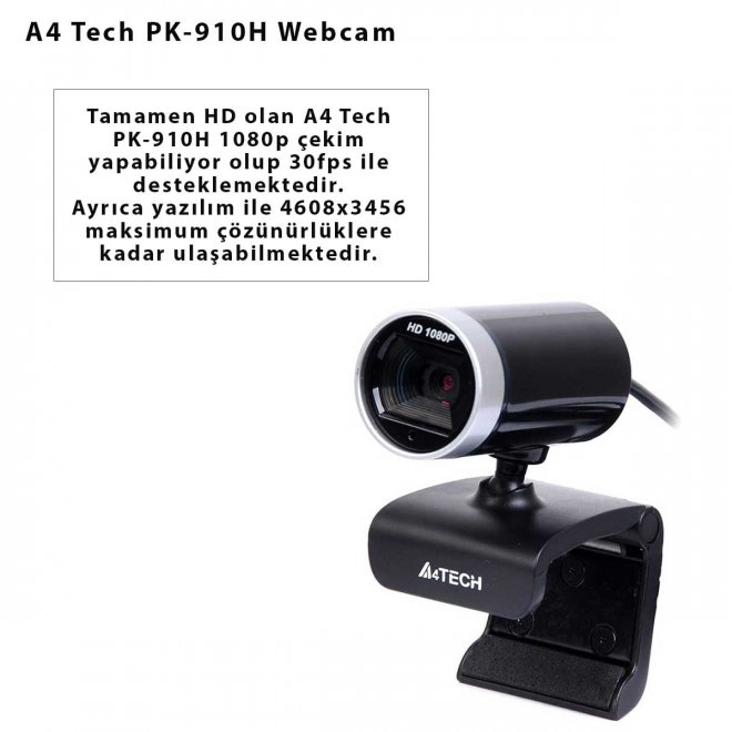 A4 Tech PK-910H Webcam