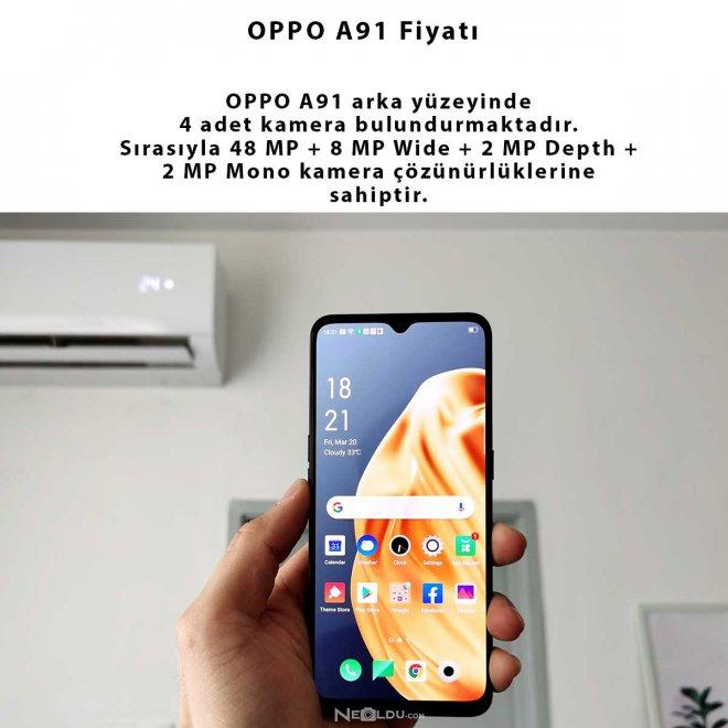 OPPO A91 Hakkında Bilgi