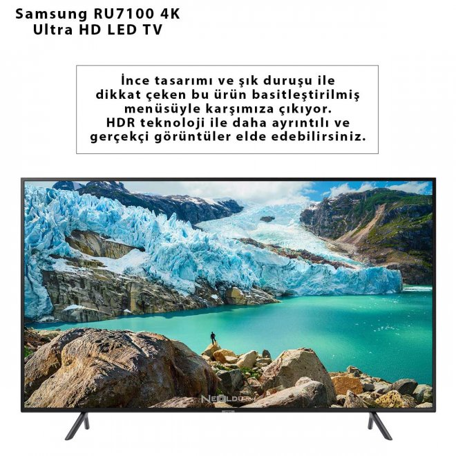 Samsung RU7100 4K Ultra HD LED TV