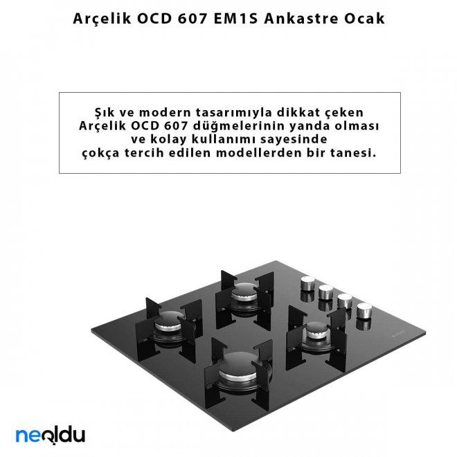 Arçelik OCD 607 EM1S Ankastre Ocak