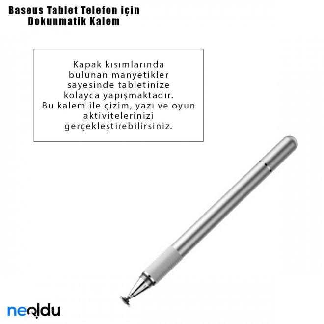 Baseus Tablet Telefon için Dokunmatik Kalem