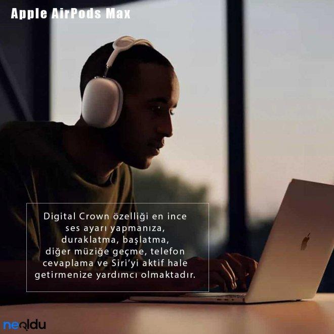 Apple AirPods Max Digital Crown