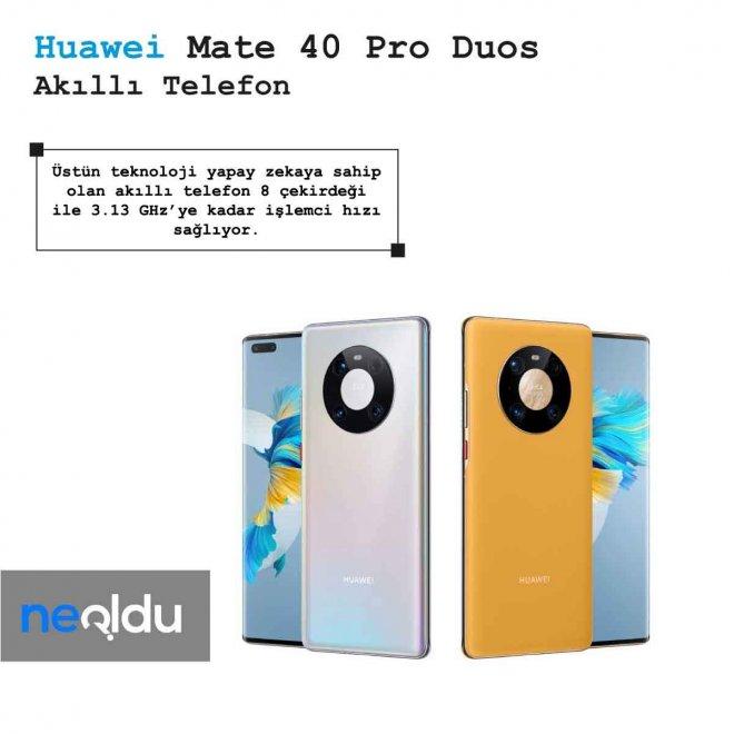 Huawei Mate 40 Pro Duos İşlemci