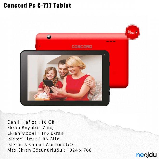 Concord Pc C-777 Tablet