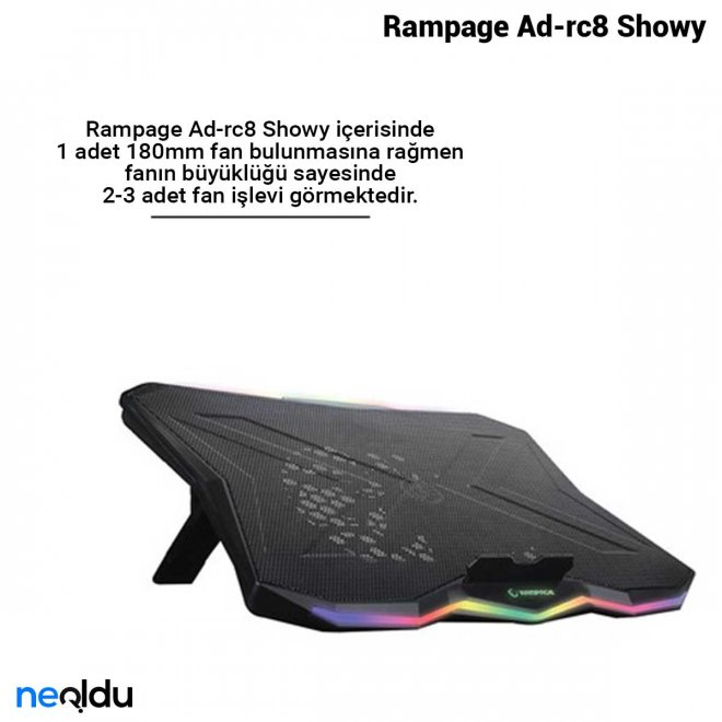 Rampage Ad-rc8 Showy