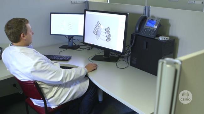 3D Yazıcıyla Üretilen Kaburga Kemikleri