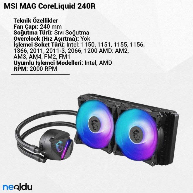 MSI MAG CoreLiquid 240R