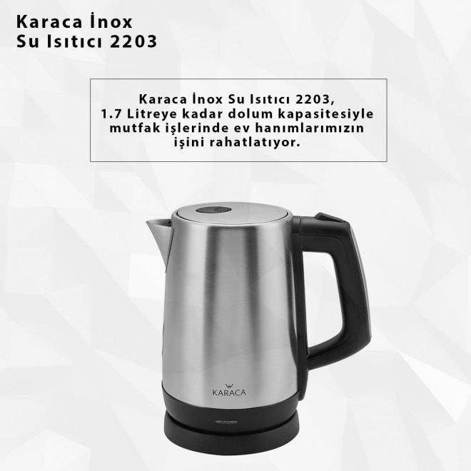 Karaca İnox Su Isıtıcı 2203
