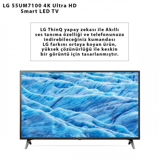 LG 55UM7100 4K Ultra HD Smart LED TV