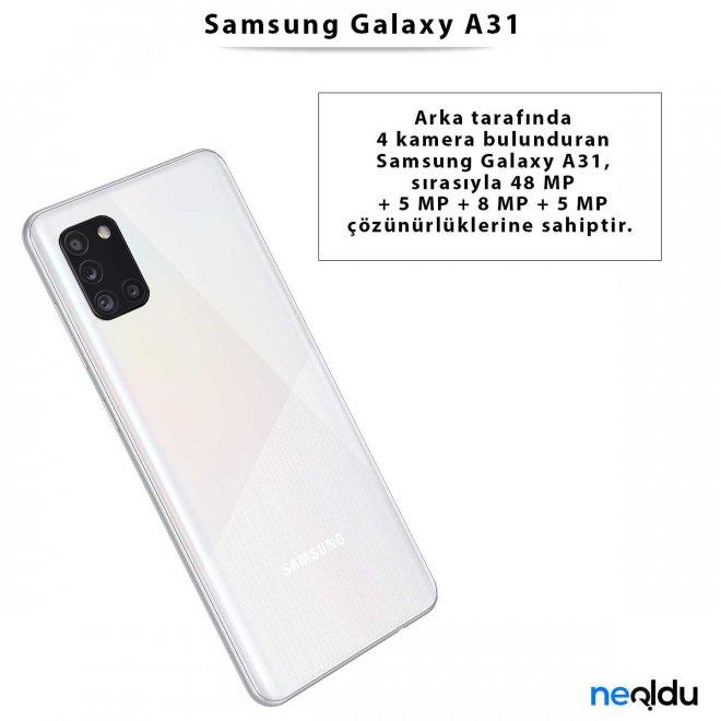 Samsung Galaxy A31 Ekran Özellikleri