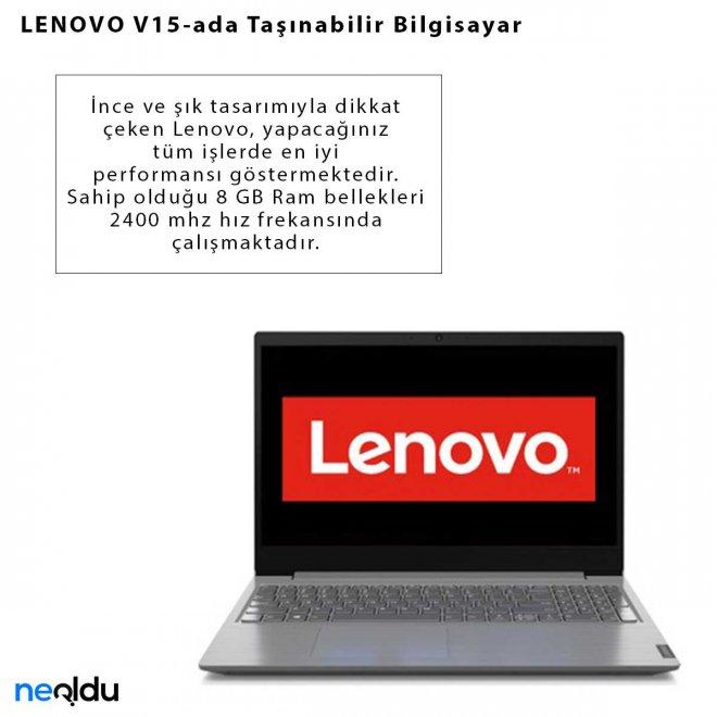 LENOVO V15-ada Taşınabilir Bilgisayar
