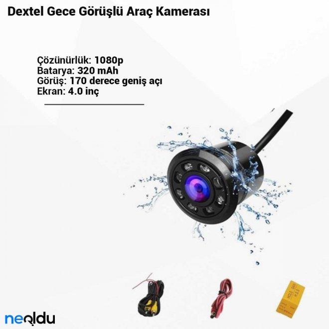 Dextel Gece Görüşlü Araç Kamerası