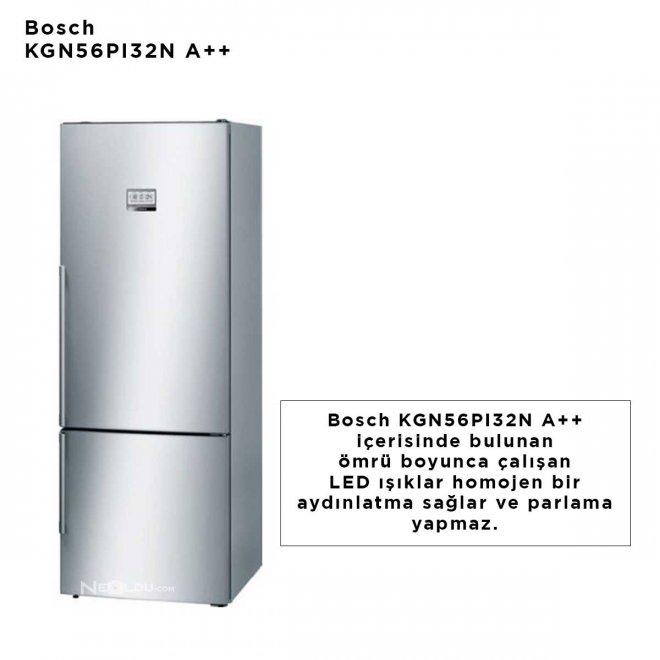 Bosch KGN56PI32N A++