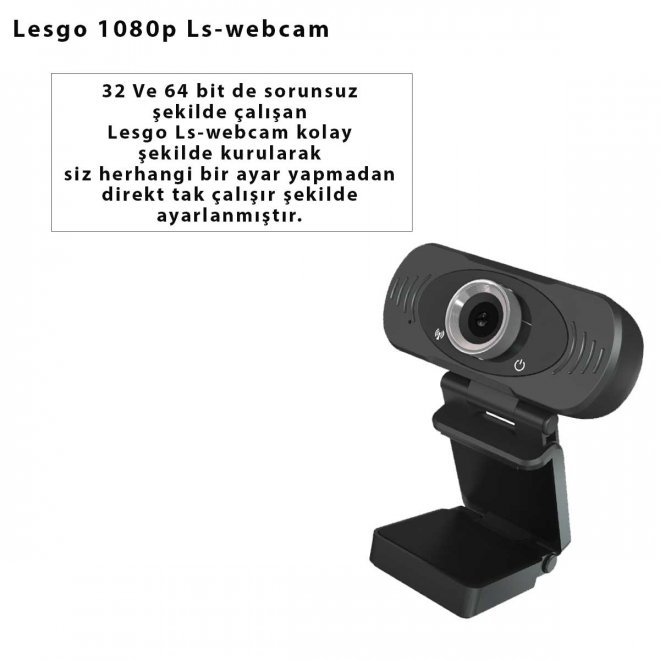 Lesgo 1080p Ls-webcam