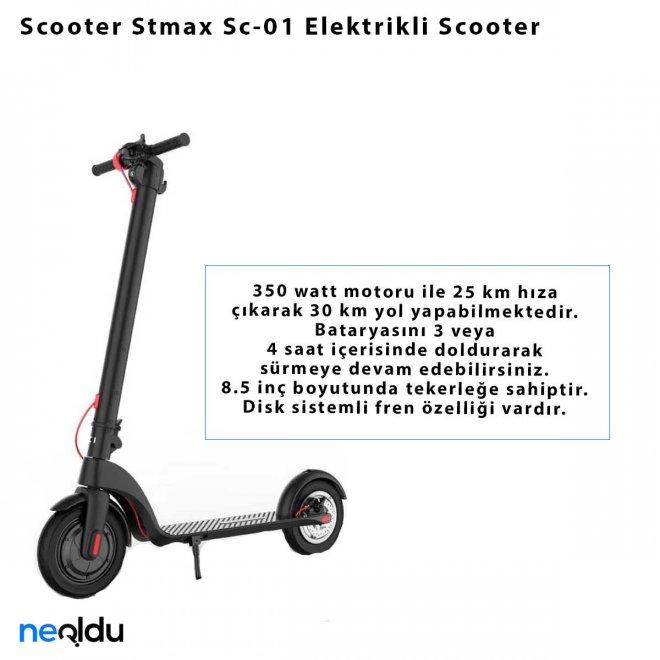Scooter Stmax Sc-01 Elektrikli Scooter