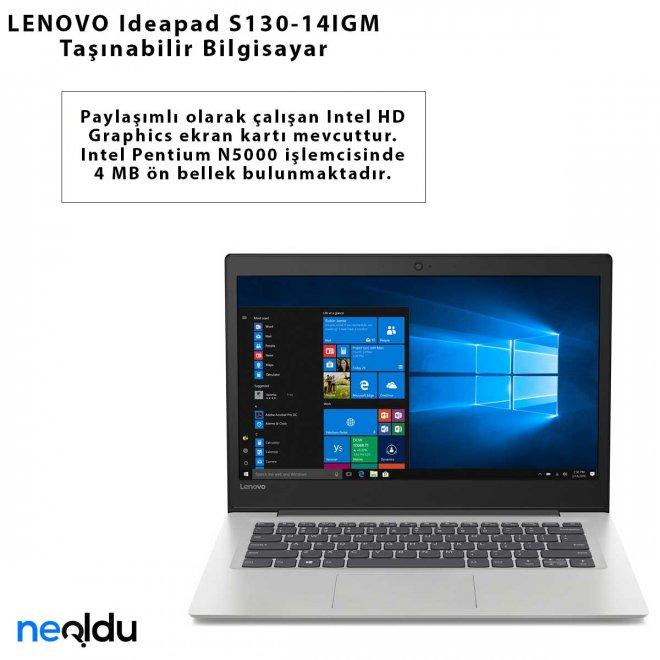 LENOVO Ideapad S130-14IGM Taşınabilir Bilgisayar