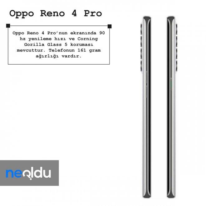 Oppo Reno 4 Pro ekran özellikleri