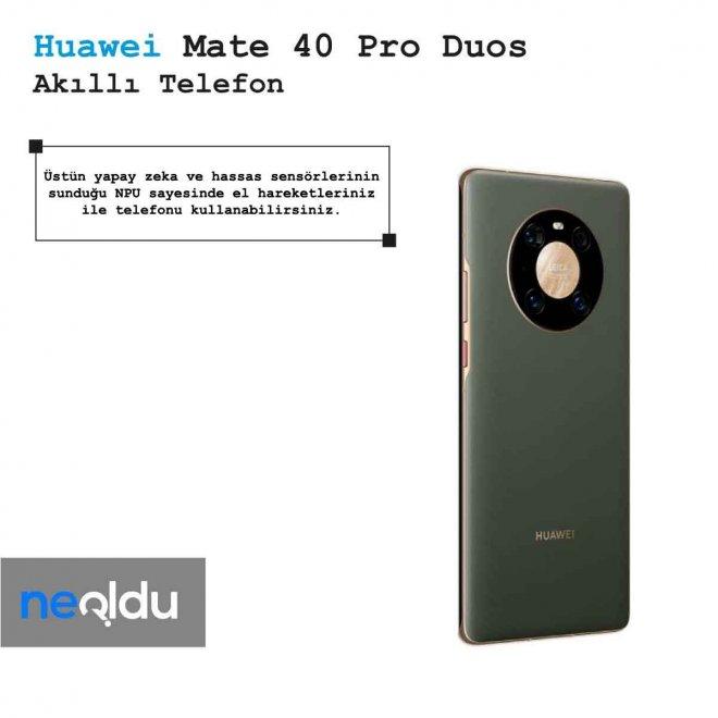 Huawei Mate 40 Pro Duos Yaoay Zeka