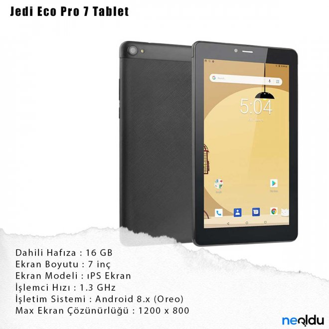 Jedi Eco Pro 7 Tablet