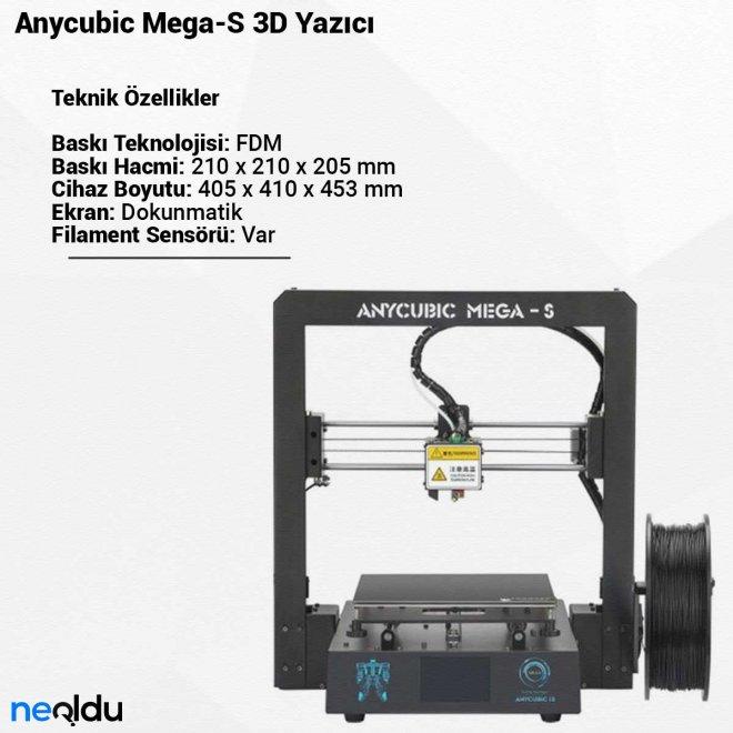 Anycubic Mega-S3D Yazıcı