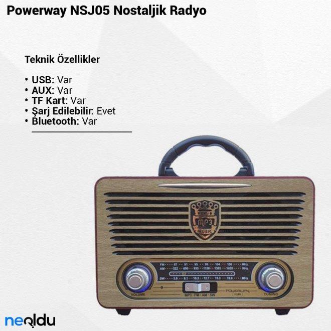Powerway NSJ05Nostaljik Radyo