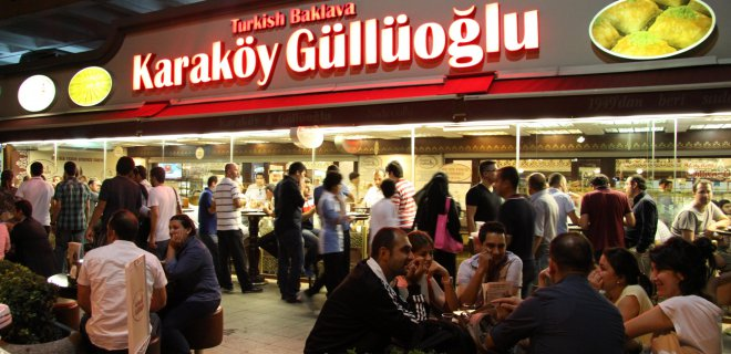 Karaköy Güllüoğlu Beyoğlu
