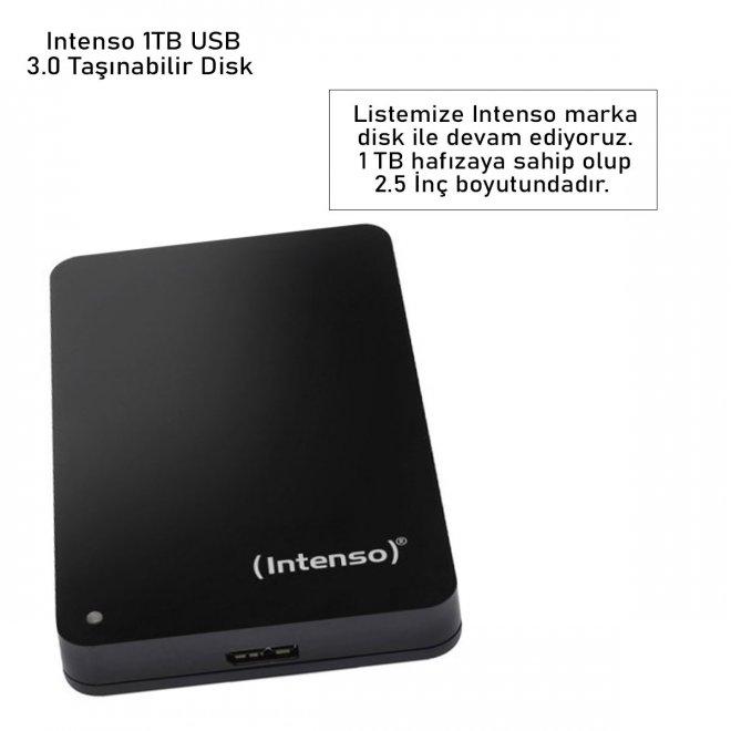 Intenso 1TB USB 3.0 Taşınabilir Disk