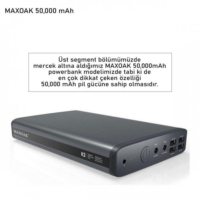 MAXOAK 50,000 mAh