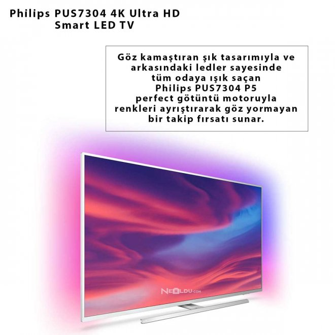 Philips PUS7304 4K Ultra HD Smart LED TV