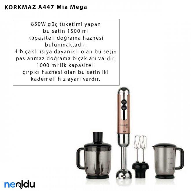 KORKMAZ A447 Mia Mega