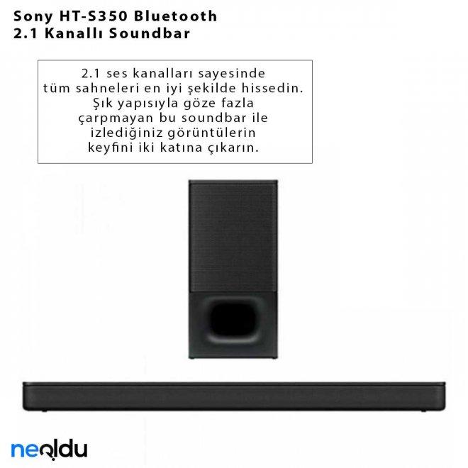 Sony HT-S350 Bluetooth 2.1 Kanallı Soundbar