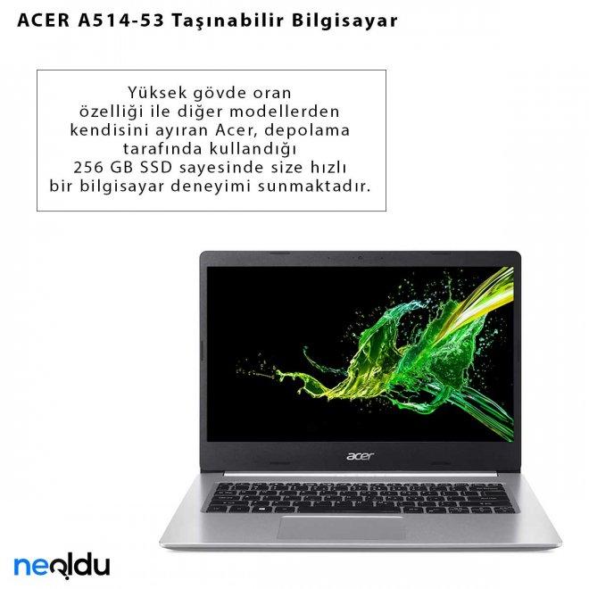 ACER A514-53 Taşınabilir Bilgisayar