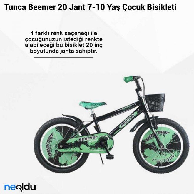 Tunca Beemer 20 Jant 7-10 Yaş Çocuk Bisikleti