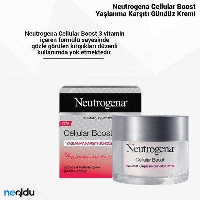 Neutrogena Cellular Boost Yaşlanma Karşıtı Gündüz Kremi