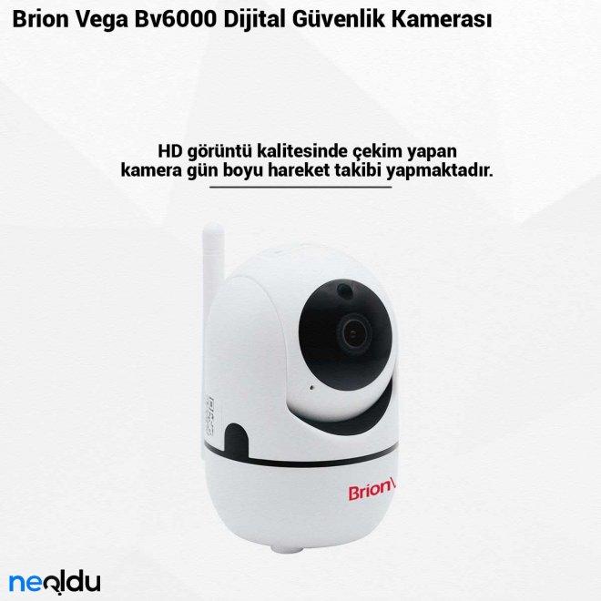 Brion Vega Bv6000 Dijital Güvenlik Kamerası