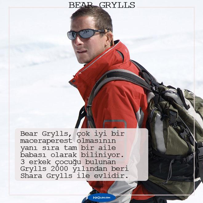 Bear Grylls hakkında 10 ilginç bilgi