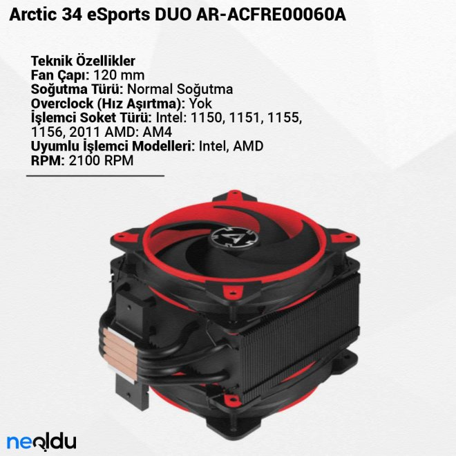 Arctic 34 eSports DUO AR-ACFRE00060A