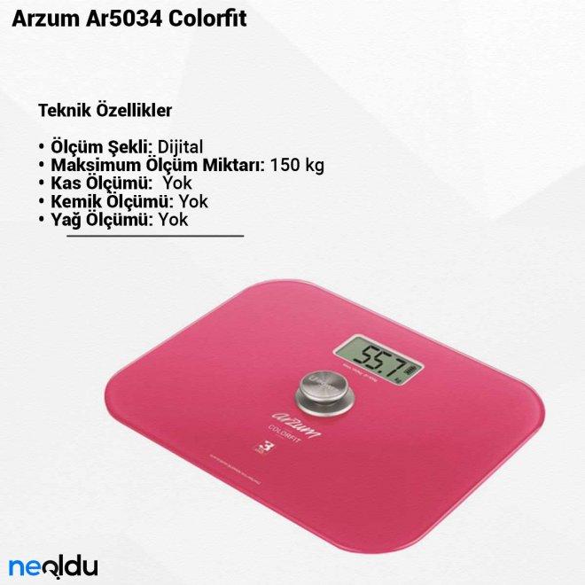 Arzum Ar5034 Colorfit