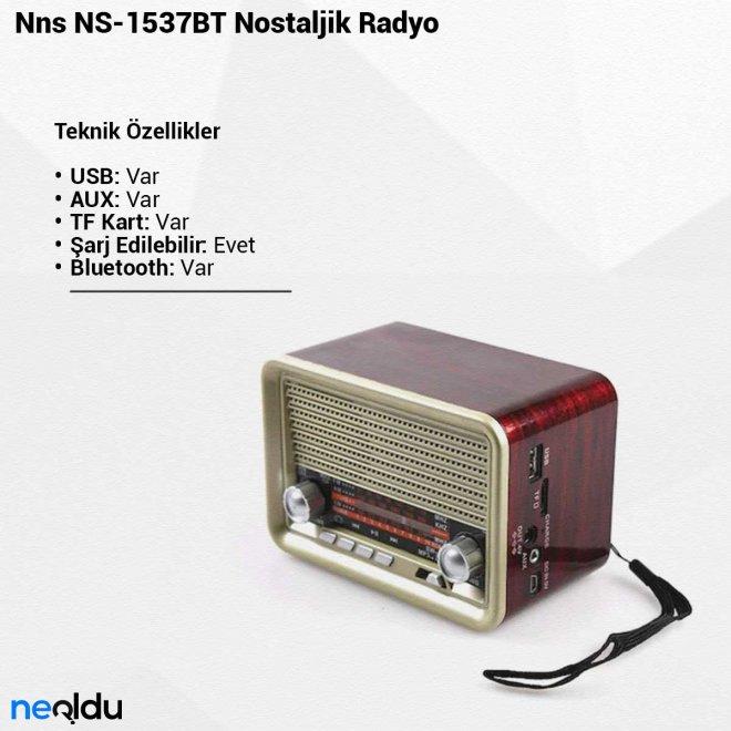 Nns NS-1537BTNostaljik Radyo
