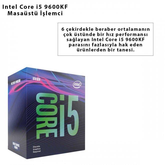Intel Core i5 9600KF Masaüstü İşlemci