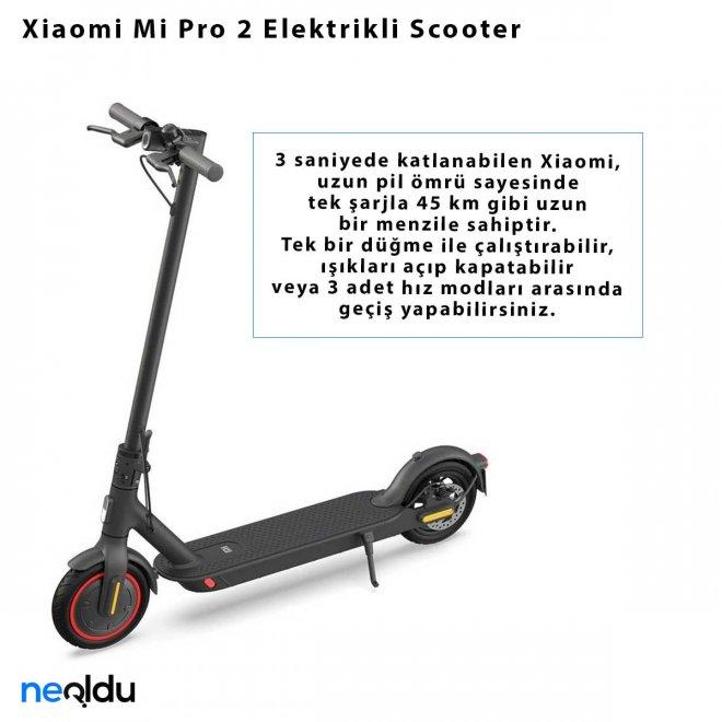 Xiaomi Mi Pro 2 Elektrikli Scooter