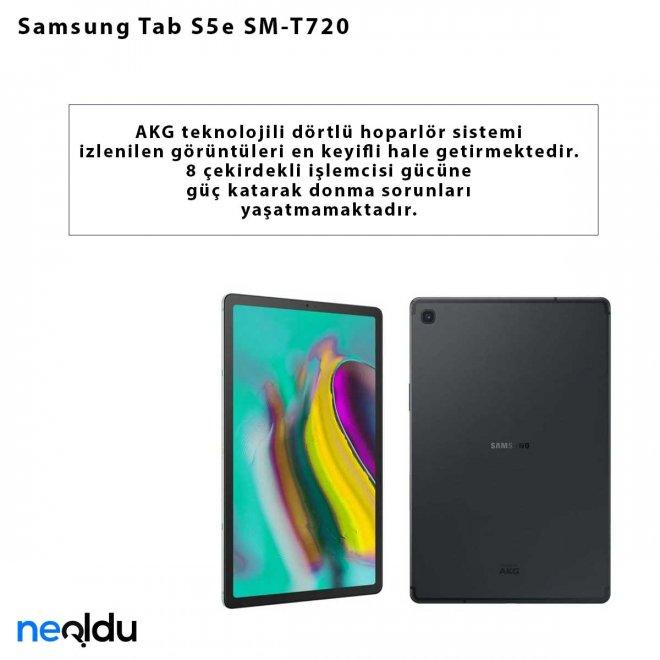 Samsung Tab S5e SM-T720